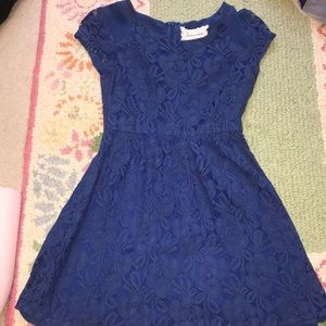 Blue Lace Urban Outfitters Dress